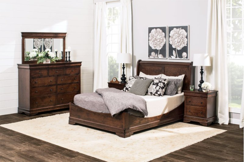 Melp4360b in by simply amish in olivia mn louis philippe 9 drawer