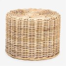 Seascape Rattan Stool - Natural (20x20x15) Product Image