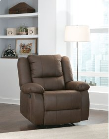 Manual Grey Recliner