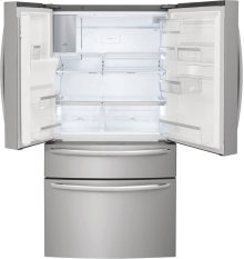 Frigidaire Gallery 21.8 Cu. Ft. Counter-Depth 4-Door French Door Refrigerator