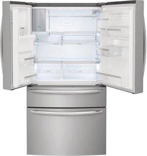 Frigidaire Gallery 21.8 Cu. Ft. Counter-Depth 4-Door French Door Refrigerator Product Image