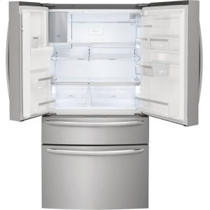 FrigidaireGALLERY Gallery 21.8 Cu. Ft. Counter-Depth 4-Door French Door Refrigerator