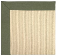 Creative Concepts-Beach Sisal Canvas Fern Machine Tufted Rugs