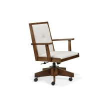 Tribeca Office Chair with Gas Lift, Tilt, Swivel Base, in Fabric