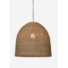 "20"" Dome Driftwood Rattan Pendant (20x20x20)"