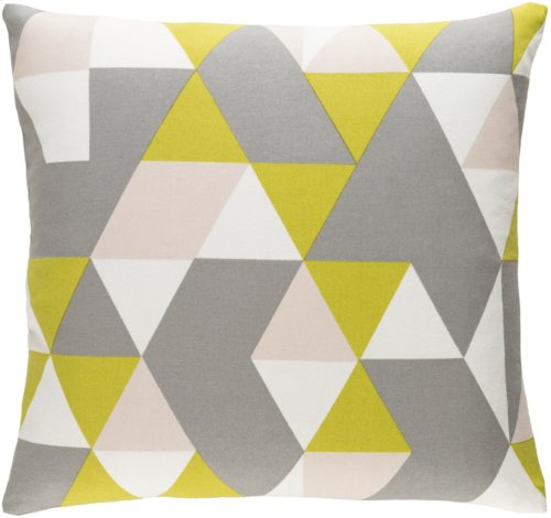 """Trudy TRUD-7147 18"""" x 18"""" Pillow Shell with Down Insert"""