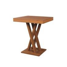 Contemporary Light Walnut Bar Table