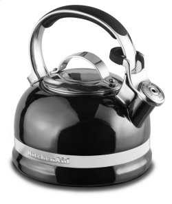 2.0-Quart Kettle with Full Stainless Steel Handle and Trim Band - Pyrite