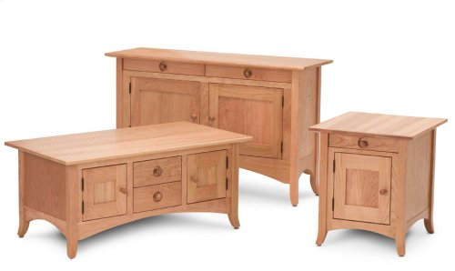 Shaker Hill Cabinet Collection, Shaker Hill Cabinet End Table