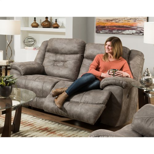 Triple Power Reclining Sofa w/USB