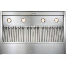 "52-3/8"" Stainless Steel Built-In Range Hood with Internal Super Pro 1200 CFM Blower"