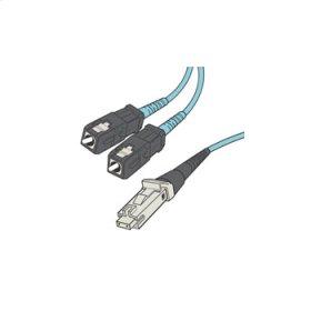 QSeries 50/125 10G Laser Optimized Multimode SC-MTRJ Duplex Fiber Cable - Plenum-Rated