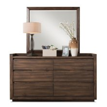 Modern Gatherings Mirror Brushed Acacia finish