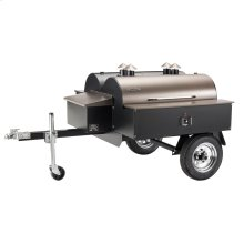 Double Commercial Pellet Grill Trailer