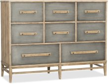 Urban Elevation Eight-Drawer Bureau