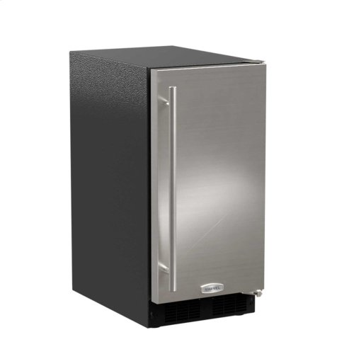 """15"""" ADA Height Clear Ice Machine with Arctic Illuminice™ - Factory Installed Pump - Panel-Ready Solid Overlay Door, Left Hinge*"""