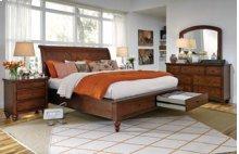 Cambridge King/Queen Storage Bed, Dresser, Mirror, Chest, and Nightstand