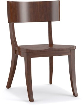 Scoop Wood Klismos Chair