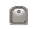 "Stainless steel kitchen sink With rounded corners [3,5""] Product Image"