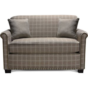 ENGLAND FURNITURE Cunningham Loveseat With Nails 3c26n