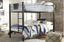 Twin/Twin Bunk Bed w/Ladder