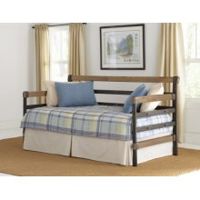 Metal & Wood Daybed