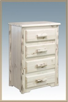Montana Log 4 Drawer Chest of Drawers