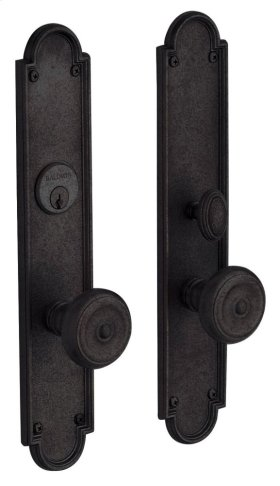 Distressed Oil-Rubbed Bronze San Francisco Entrance Trim