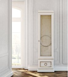 Astoria Single Antique Mirror