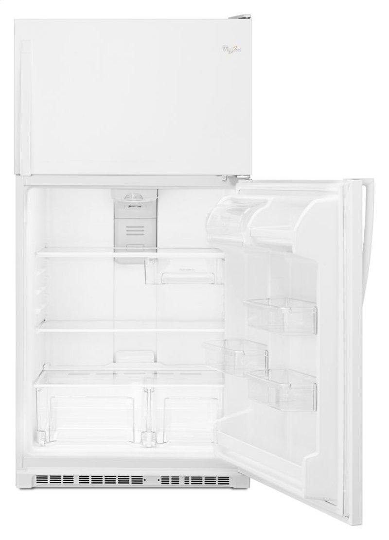 33 Inch Wide Top Freezer Refrigerator 20 Cu Ft