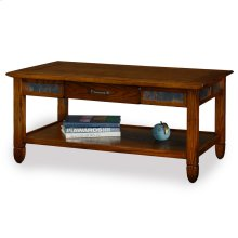 Slatestone Rustic Oak Coffee Table #10904