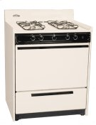 """Bisque Gas Range With Electronic Ignition In 30"""" Width; Replaces Stm2103 Product Image"""