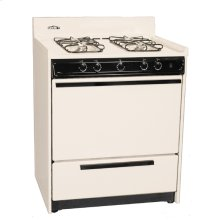 """Bisque Gas Range With Electronic Ignition In 30"""" Width; Replaces Stm2103"""