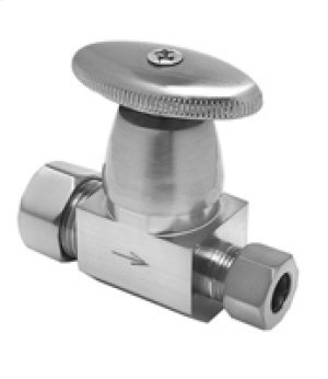 Oval Handle Angle and Straight Valves Product Image