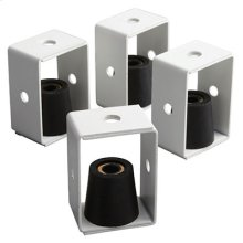 Vibration Dampening Hangers. Fits both Models L2000L and L3500EXL ventilators. Set of four required.