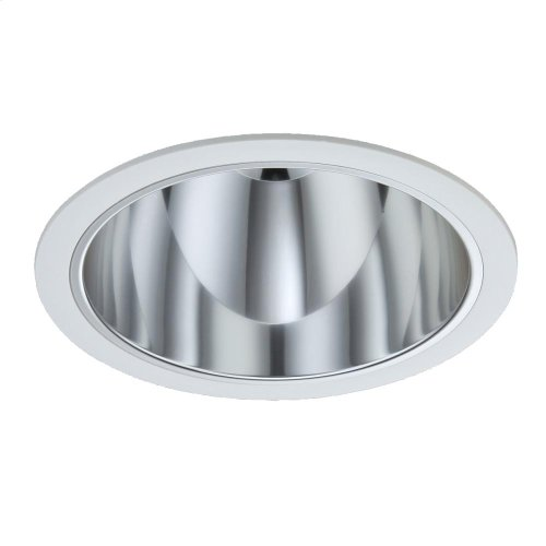 TRIM,6IN SMOOTH BAFFLE - White