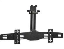 Black Soundbar Speaker Mount For soundbars and center-channel speakers up to 35 lbs.