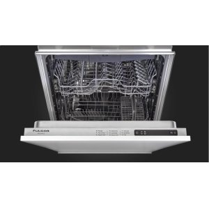 "Fulgor Milano24"" Overlay Built-in Dishwasher - Overlay Panel"