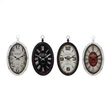 Vertiga Wall Clocks - Ast 4