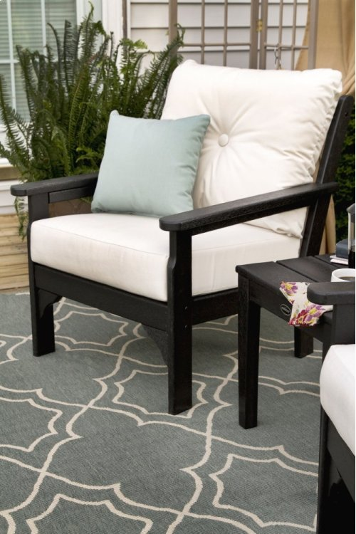 Sand & Air Blue Vineyard Deep Seating Chair