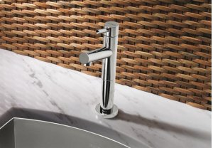 Blanco Alta Bar Faucet - Satin Nickel