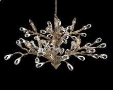 Budding Crystal Ten-Light Chandelier
