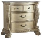 Monaco Antique White Night Stand - 38''L x 19''D x 33''H Product Image