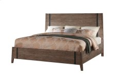 King 6/6 Solid Panel Headboard-panel Footboard-bedrails & Slats