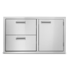 "36"" Double Drawer and Access Door Combo"