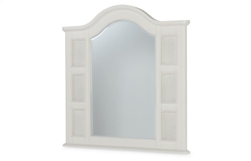 Summerset - Ivory Landscape Photo Mirror