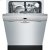 """Additional 24"""" Recessed Handle Dishwasher Ascenta- Stainless steel"""