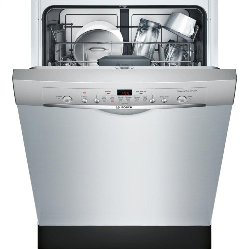 "24"" Recessed Handle Dishwasher Ascenta- Stainless steel"