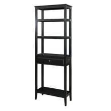 "Sedona ""Antique Black"" tall Bookshelf"