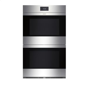 "Wolf30"" M Series Contemporary Stainless Steel Built-In Double Oven"